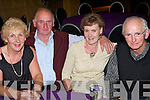 Enjoying the night out at the Ballincrossing School dance for pupils and staff held in The Ballyroe Heights Hotel on Friday night were l/r Joan O'Connell, Mossie Hurley, Anne Rice and Patsy O'Connor..   Copyright Kerry's Eye 2008