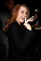 LONDON, ENGLAND - FEBRUARY 09 :  Amy Adams leaves the Charles Finch and Chanel pre-BAFTA party at Loulou's on February 09, 2019 in London, England.<br /> CAP/AH<br /> &copy;Adam Houghton/Capital Pictures