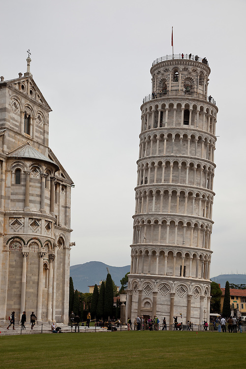 Leaning tower of Pisa,Italy