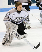 Tyler Sims (Providence 35) - The Boston College Eagles and Providence Friars played to a 2-2 tie on Saturday, March 1, 2008 at Schneider Arena in Providence, Rhode Island.