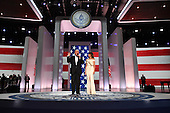 President Donald Trump and First Lady Melania Trump appear at the Liberty Ball at the Washington Convention Center on January 20, 2017 in Washington, D.C. Trump will attend a series of balls to cap his Inauguration day. <br /> Credit: Kevin Dietsch / Pool via CNP