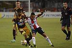 En el juego de ida de los cuartos de final de la Copa Colombia, disputado en el estadio metropolitano Roberto Meléndez de Barranquilla, Atlético Junior se impuso 2-1 al Tolima