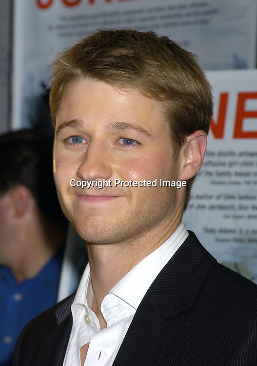 "Benjamin McKenzie ..at the New York Premier of ""Junebug"" on August 1, 2005..at the Loews 19th Street Theatre. ..Photo by Robin Platzer, Twin Images"
