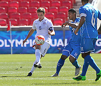 Sandy, Utah - Saturday, October 10, 2015: Honduras defeats the USMNT U-23 2-0 in CONCACAF Men's Olympic Qualifying at Rio Tinto Stadium.