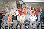 HAPPY BIRTHDAY: Breda Dennehy, Strand Rd, Tralee (seated 4th right) who dined upstairs in Kirby's Brogue, Rock St, Tralee last Saturday night to celebrate a special birthday with family and friends.