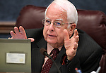 Nevada Assemblyman Lynn Stewart, D-Las Vegas, works in committee Tuesday, May 24, 2011, at the Legislature in Carson City, Nev. .Photo by Cathleen Allison