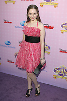 BURBANK, CA - NOVEMBER 10: Darcy Rose Byrnes at the premiere of Disney Channels' 'Sofia The First: Once Upon a Princess' at Walt Disney Studios on November 10, 2012 in Burbank, California. Credit: mpi28/MediaPunch Inc. /NortePhoto