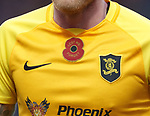 10.11.2019: Livingston v Rangers: Livingston poppy shirt