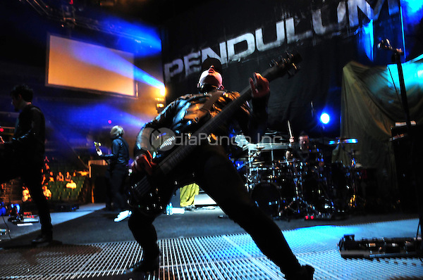 Pendulum Perform during Linkin Park  'A Thousand Suns' world tour at Bank Atlantic Center on January 20, 2011 in Sunrise, Florida._NON-EXCL_ photo by MPI10/MediaPunch Inc.