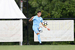 BROWNS SUMMIT, NC - SEPTEMBER 16: North Carolina's David October (ENG). The University of North Carolina Tar Heels hosted the Duke University Blue Devils on September 16, 2017 at Macpherson Stadium in Browns Summit, NC in a Division I college soccer game. UNC won the game 2-1.