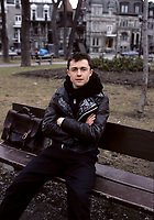 Marc Beland, April 1988 exclusive photo shoot in  Saint-Louis Square.