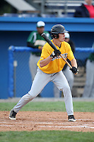 October 3,2009:  Jamestown Community College Jaguars vs the Genesee Community College Cougars in the first game of the Final Four WNYAC Tournament at Dwyer Stadium in Batavia, NY.  Genesee defeated Jamestown by the score of 14-4 with the mercy rule to advance to the Championship game.  Photo Copyright Mike Janes Photography 2008