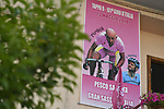 Sign on before the start of Stage 9 of the 2018 Giro d'Italia, running 225km from Pesco Sannita to Gran Sasso d'Italia (Campo Imperatore), this year's Montagna Pantani, Italy. 13th May 2018.<br /> Picture: LaPresse/Fabio Ferrari | Cyclefile<br /> <br /> <br /> All photos usage must carry mandatory copyright credit (&copy; Cyclefile | LaPresse/Fabio Ferrari)