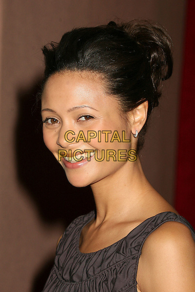 THANDIE NEWTON.The Hollywood Reporter's Annual Women In Entertainment Power 100 Breakfast at the Beverly Hills Hotel, Beverly Hills, California, USA..December 5th, 2006.headshot portrait .CAP/ADM/BP.©Byron Purvis/AdMedia/Capital Pictures