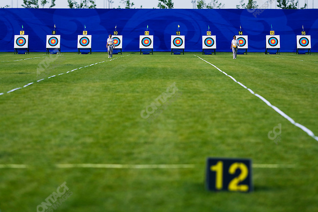 Olympic Green Archery Field, Summer Olympics, Beijing, China, August, 9, 2008