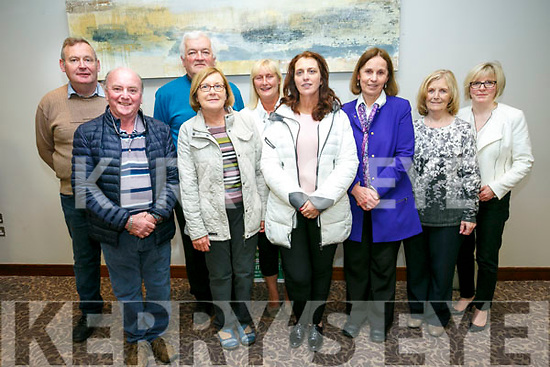 Post Office meeting will be held in the Rose Hotel, Tralee on Monday. Pictured l-r Mike Daly, scartaglin, Gerard O'Sullivan, Currow, Joe Walsh Castleisland, Mairead Ahern, Farranfore, Sandra Conway, Castleisland, Julie Kelleher, Rathmore, Mary Colins , Moyvane, Eileen Devane, Annascaul, Marie Williams, Rock St. Tralee