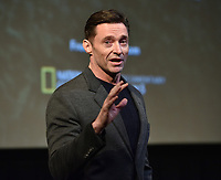 "NEW YORK - DECEMBER 5: Actor Hugh Jackman attends a screening of National Geographic Documentary Films ""Free Solo"" at the Walter Reade Theater on December 5, 2018 in New York City. (Photo by Stephen Smith/National Geographic/PictureGroup)"