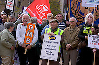 ..MASS RALLY For Decent Pay, Decent Pensions, Decent Public Services.17th October 09 Victoria Square, Birmingham...