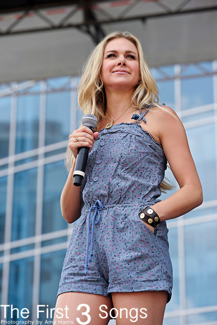 Laura Bell Bundy performs at LP Field during the 2011 CMA Music Festival on June 10, 2011 in Nashville, Tennessee.