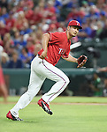 Yu Darvish (Rangers),<br /> APRIL 3, 2017 - MLB :<br /> Texas Rangers starting pitcher Yu Darvish during the opening day of the Major League Baseball game against the Cleveland Indians at Globe Life Park in Arlington in Arlington, Texas, United States. (Photo by AFLO)