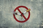 Illustrative image of no smoking sign
