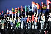 28 juillet 2011,ce?re?monie d'ouverture du 22e?me Jamboree Scout Mondial a? Rinkaby, Kristianstad, Sue?de, Photo © Jean-Pierre POUTEAU 2011