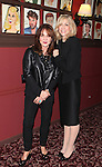 Stockard Channing & Judith Light.attending the celebration for Jon Robin Baitz receiving a Caricature on Sardi's Hall of Fame in New York City on 5/31/2012