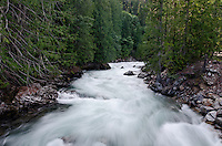 Stehekin River Horizontal at Highbridge, in Stehekin, North Cascades National Park, Washington State