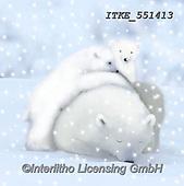 Isabella, CHRISTMAS ANIMALS, WEIHNACHTEN TIERE, NAVIDAD ANIMALES, paintings+++++,ITKE551413,#xa# ,icebear,icebears