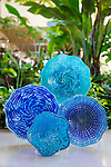 Glass art for sale at the Four Seasons Resort Maui in Wailea, Maui, Hawaii, USA