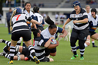 Women's Rugby - Petone v Moutere Rugby Club Marlborough at Petone Recreation Ground, Lower Hutt, New Zealand on Saturday 1 April 2017.<br /> Photo by Masanori Udagawa<br /> www.photowellington.photoshelter.com.