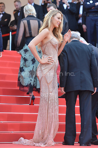 Blake Lively at &quot;Cafe Society&quot; &amp; Opening Gala arrivals - The 69th Annual Cannes Film Festival, France on May 11, 2016.<br /> CAP/LAF<br /> &copy;Lafitte/Capital Pictures /MediaPunch ***NORTH AND SOUTH AMERICAN SALES ONLY***
