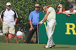 Dubai World Championship Golf. Earth Course,.Jumeirah Golf Estate, Dubai, U.A.E...Miguel Angel Jimenez tees off on the second during the third round of the Dubai World Golf championship..Photo: Fran Caffrey/www.golffile.ie...