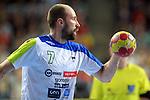 Vid Kavticnik. SPAIN vs SLOVENIA: 26-22 - Semifinal.