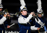 NWA Democrat-Gazette/CHARLIE KAIJO Shiloh Christian High School band members perform during a Class 4A semi-final playoff football game, Saturday, December 1, 2018 at Champions Stadium at Shiloh Christian High School in Springdale.