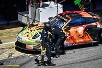 #56 TEAM PROJECT 1 (DEU) PORSCHE 911 RSR LMGTE AM EGIDIO PERFETTI (NOR) DAVID HEINEMEIER HANSSON (DNK) MATTEO CAIROLLI (ITA)