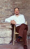 """Jeffrey Eugenides, vincitore del Pulitzer nel 2003 con """"Middlesex"""", torna in libreria con """"Una cosa sull'amore"""". Mantova 10 settembre 2003. © Leonardo Cendamo"""