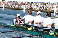 Race: 17 - Event: GRAND - Berks: 1 LEANDER CLUB &amp; NEWCASTLE UNIVERSITY - Bucks: 2 PASSAU &amp; TREVIRIS TRIER, GER<br /> <br /> Henley Royal Regatta 2017<br /> <br /> To purchase this photo, or to see pricing information for Prints and Downloads, click the blue 'Add to Cart' button at the top-right of the page.