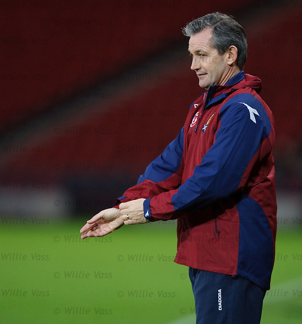 George Burley gets set for Scotland training