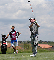 Morten Orum Madsen (DEN) powers his drive up the 9th on his way to a 65 during Round Two of The Tshwane Open 2014 at the Els (Copperleaf) Golf Club, City of Tshwane, Pretoria, South Africa. Picture:  David Lloyd / www.golffile.ie