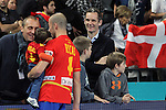 Barrufet, Rocas & Undargarin. SPAIN vs SLOVENIA: 26-22 - Semifinal.