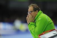 SCHAATSEN: HEERENVEEN: 26-10-2013, IJsstadion Thialf, NK afstanden, Jac Orie (trainer/coach Team Activia), ©foto Martin de Jong