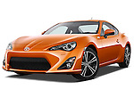 Low aggressive front three quarter view of a 2013 Toyota GT86 Sport Coupe.