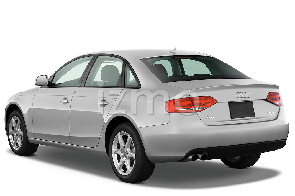 Rear three quarter view of a 2011 Audi A4 Sedan