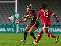 Rachael Burford in action, England Women v Canada in an Autumn International match at The Stoop, Twickenham, London, England, on 21st November 2017 Final score 49-12