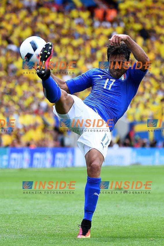 Eder Italy <br /> Toulouse 17-06-2016 Stade de Toulouse <br /> Football Euro2016 Italy - Sweden / Italia - Svezia Group Stage Group E<br /> Foto Massimo Insabato / Insidefoto