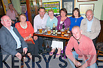 Birthday Party: John finnegan & Mary Tarney celebrating their birthdays with family at the Saddle Bar, Listowel on Saturday night last. L- R : Joe & Peg Heffernan, John Finnegan, Mary Tarney, Carloine Finnegan, Joe Tarney and in front Martin Tarney.