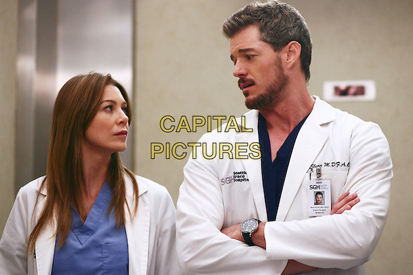 "ELLEN POMPEO & ERIC DANE.in Grey's Anatomy (Season 3).""Where the Boys Are""  .**Editorial Use Only**.CAP/FB.Supplied by Capital Pictures"