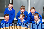 Pupil's from Sliabh a Mhadra NS, Johnny Kennelly, Patrick Nolan, Aidan Anderson, Ethan Daly, AJ Collins and Martin Brosnan at the Primary schools science quiz  ITT South Campus on Thursday