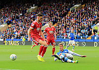 Joost van Aken of Sheffield Wednesday wins the ball during the Sky Bet Championship match between Sheffield Wednesday and Nottingham Forest at Hillsborough, Sheffield, England on 9 September 2017. Photo by Leila Coker / PRiME Media Images.